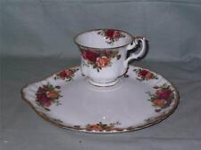 Royal Albert Old Country Roses TV tenis conjunto taza de té & circular Placa Buffet