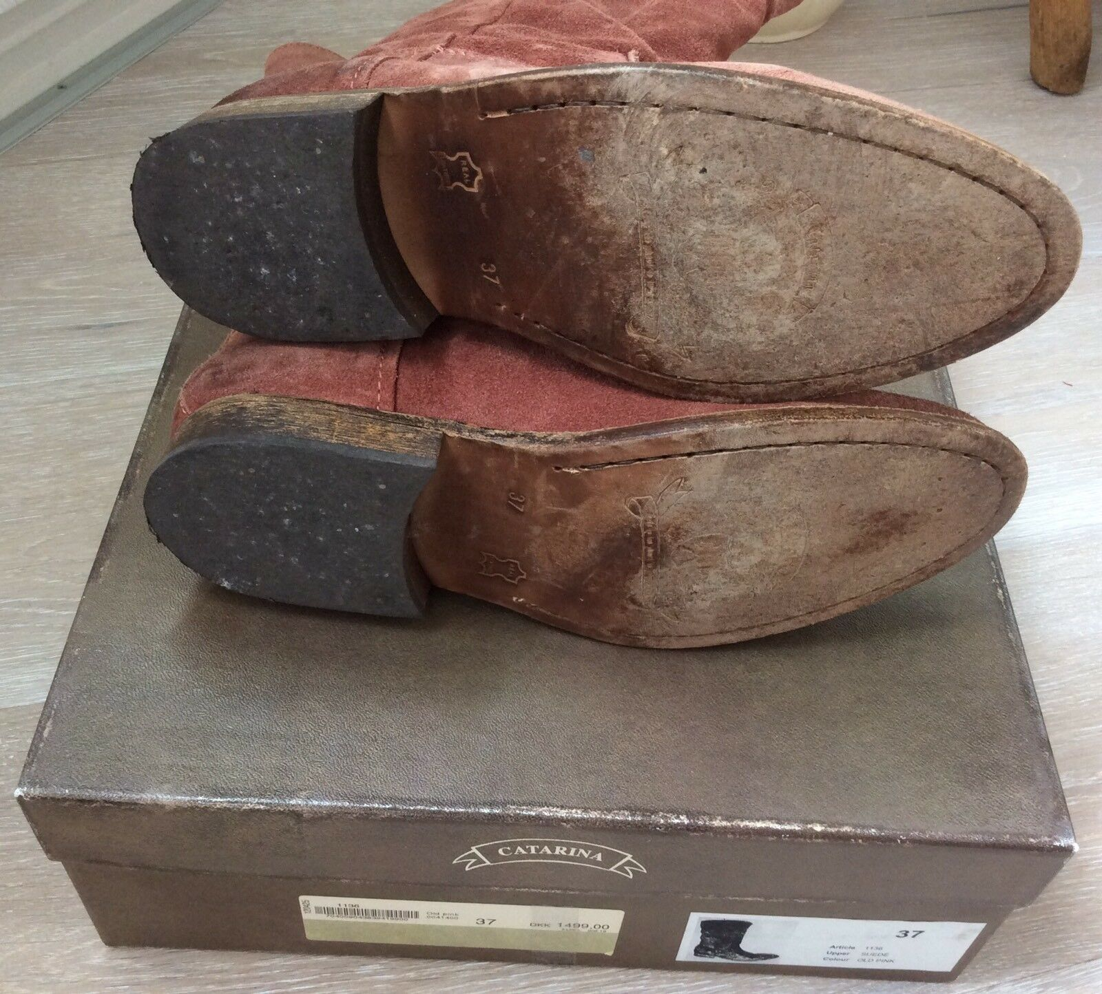 Catarina CM Stiefel Stiefel Stiefel Boots vintage Rose Odd Impressionen 51e954