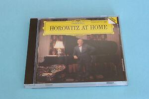 CD-VLADIMIR-HOROWITZ-034-HOROWITZ-AT-HOME-034-PIANO-DEUTSCHE-GRAMMOPHON-1989-TB-ETAT