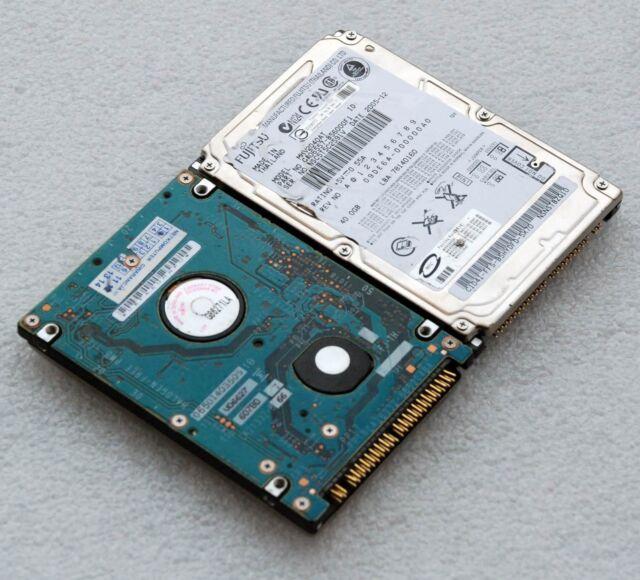 """40GB IDE PATA FAST + SILENT 2,5 """" 6,25 cm HDD Hard Drive Fujitsu MHV2040AT F77"""