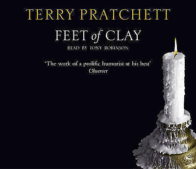 1 of 1 - terry pratchett-Very Good, Feet Of Clay: (Discworld Novel 19) (Discworld Novels)