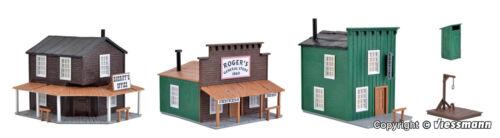 Dentist Nouveau//Neuf dans sa boîte KIBRI h0 38502 3 maisons western shérif Store