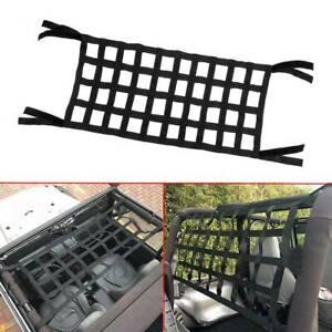 High Quality Cargo Net Back Window Roof Net Hammock for Wrangler