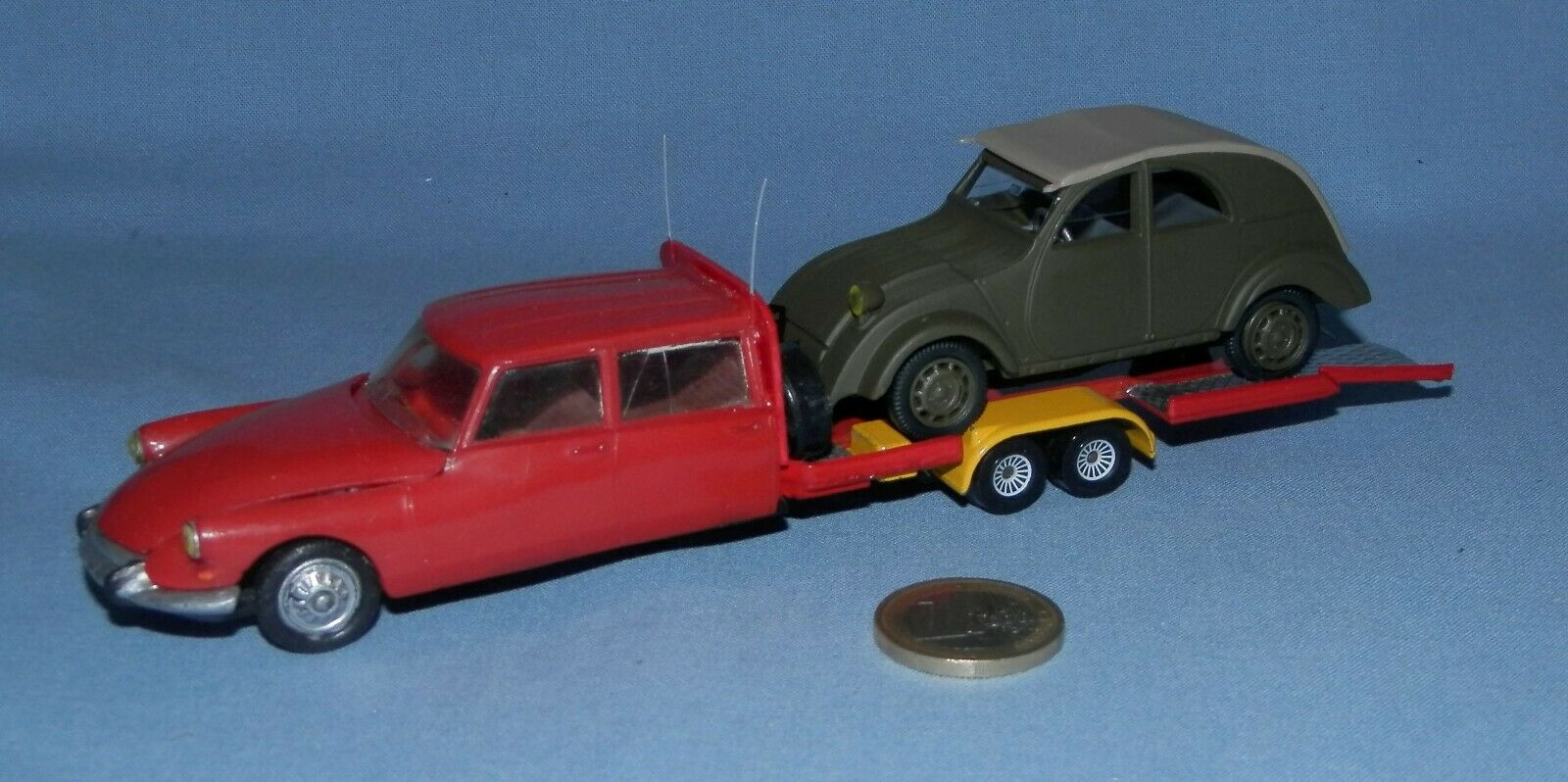 Norev 1 43 transformation  citroen ds tissier holder car + 2cv anno 1939