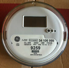 General Electric Ge Watthour Meter Kwh Model I 210 240 Volts 200a Fm2s