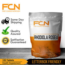 Rhodiola Rosea 5000MG Extra Strength 120 Tablets | Highest Strength Available |
