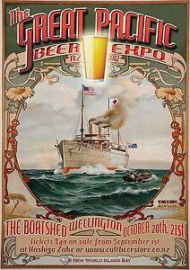 A0 A1 A2 A3 A4 poster print painting  Vintage Stella Petrol Art Deco