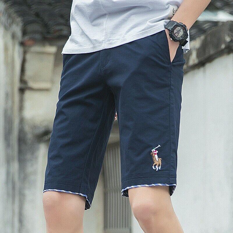 Men's Fifth Pants Summer Trousers Slim Korean Casual Party Outwear Sales jwk