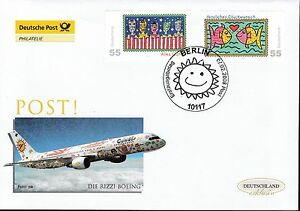Adroit Rfa 2008 Deutsche Post Fdc Minr. 2644-2645 Post Grußmarken-afficher Le Titre D'origine Les Commandes Sont Les Bienvenues.