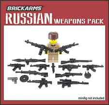 BRICKARMS WWII RUSSIAN Weapon Pack 2016 for Lego Minifigures Limited Edition NEW