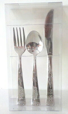 Harry Potter Stainless Steel Child\u0027s Cutlery set by Arthur Price boxed unused & Harry potter collection on eBay!