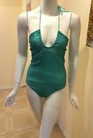 Flaming Dando Made In Australia One Piece Swimsuit Mint Spots Size Small Wt