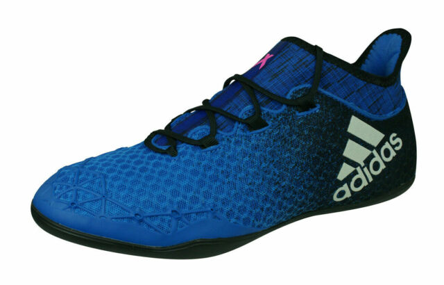 adidas X Tango 16.1 IN Mens Indoor Football Shoes Futsal Trainer Blue UK 8.59.5