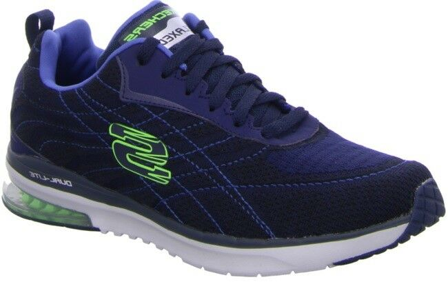 Skechers Skech-Air infinito de hombre-Low-Top zapatillas Belden, Azul