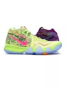 low priced e3bc9 dfcd0 Details about DS VERY RARE Brand New Nike Kyrie 4 SneakEasy Confetti  Multi-Color Size 10.5