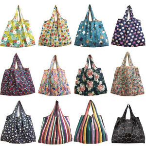 US-Home-Hot-Foldable-Recycle-Shopping-Reusable-Grocery-Food-Vegetable-Tote-Bags