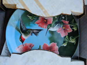 Edwin-Knowles-china-collectable-plate-the-hummingbird-TC121018NN