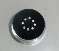 8 White Diamond Loose Rounds 1.8mm Each