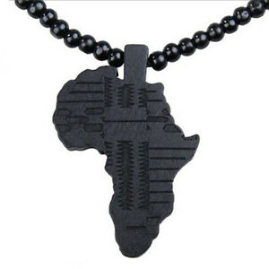 Funny-Africa-Piece-Wooden-Rosary-Necklace-Map-Bead-Pendant