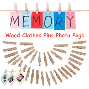 Clothespin earrings clip washing laundry wood