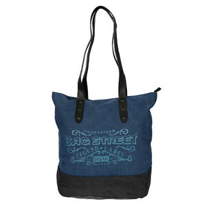 Canvas Damen Handtasche Shopper Schultertasche Tasche ...