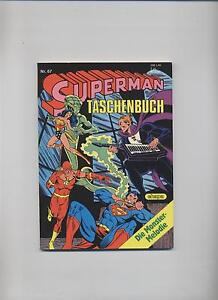 SUPERMAN TASCHENBUCH # 67 - EHAPA VERLAG 1985 - TOP