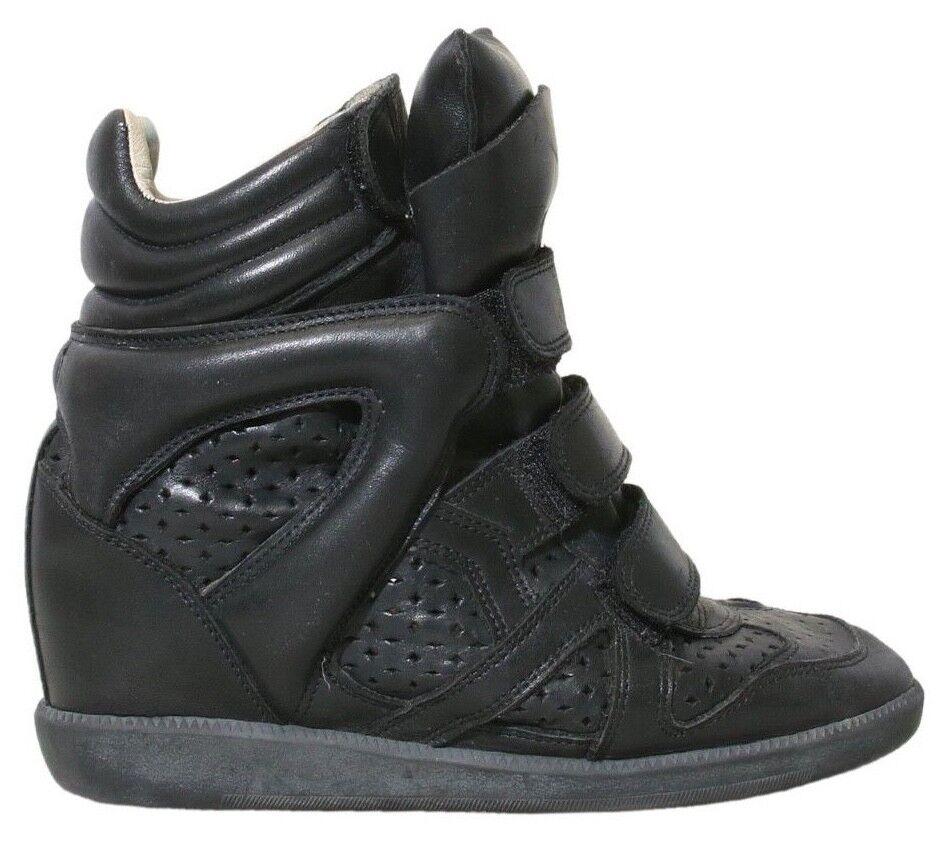 ISABEL MARANT Beckett Beckett Beckett Wedge scarpe da ginnastica nero (Dimensione 36) 70ffe7