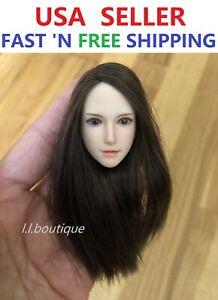 SUPERDUCK SDH015D 1/6 scale Female Head Sculpt for PALE PHICEN TBL Figure Doll