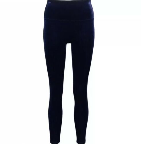 £ 89 velluto Lapis Spanx Night Velvet in Leggings esaurito Navy 0U1aff