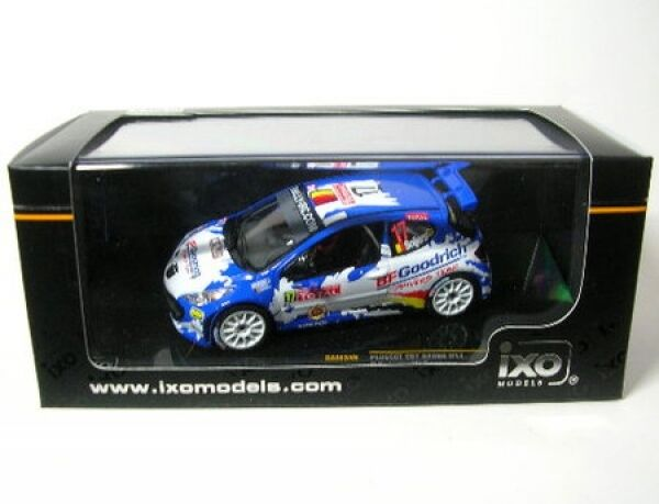 Peugeot 207 S2000 No. 17 Rally Ypres 2008