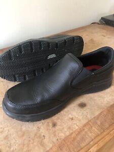 skechers mens work shoes Slip Resistant