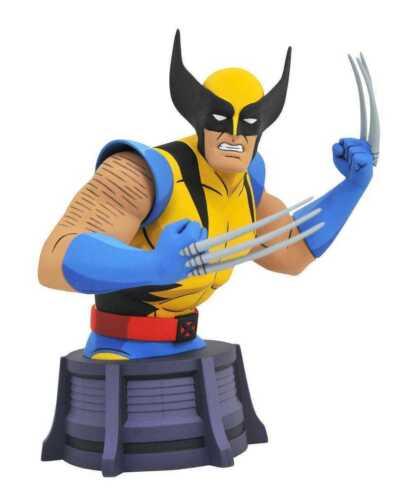 Marvel X-Men Animated Series Bust Wolverine 15 cm Diamond Select Busti