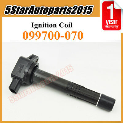 WonVon Ignition coil Pack,4Pcs High Performance Ignition Coil on Plug Replacement 099700-070 673-2301