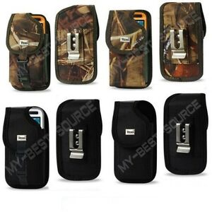 Strong-Heavy-Duty-Canvas-Pouch-Holster-Belt-Clip-FOR-Cell-Phone-To-Fit-UAG-Case