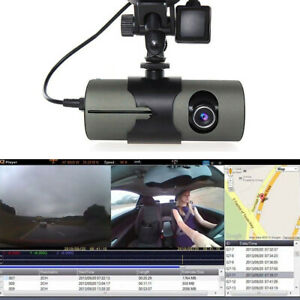 R300-Dual-Lens-Dash-Cam-Full-HD-Car-DVR-Camera-Video-Recorder-w-GPS-Logger-CHH
