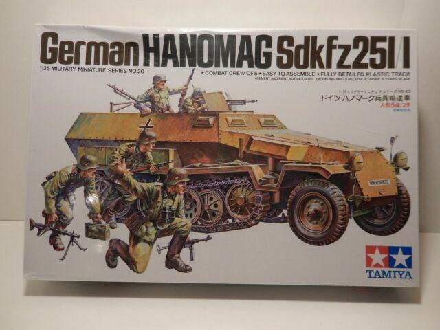 WWII german Sd.Kfz 251 Hanomag Tracks Ketten Gummiketten 1:35 AFV Club 35096