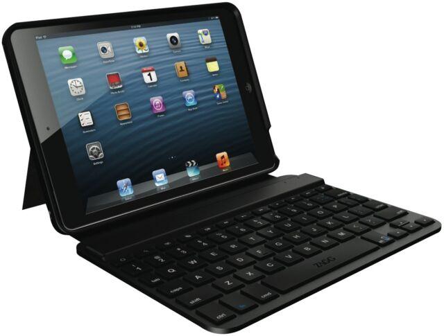 ZAGG FOLBSLBLK103 iPad Mini Keyboard Folio Black NEW