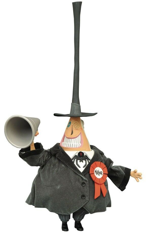 Nightmare Before Christmas Mayor 6-Inch Deluxe Cloth Doll