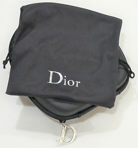7f95c7380ba8 DIOR CD Zipped Case and Drawstring Pouch for SUNGLASSES New ...
