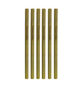 CompéTent Bamboo 200 Mm Réutilisable Pailles Biodégradables Paille Naturel Bio Eco-afficher Le Titre D'origine