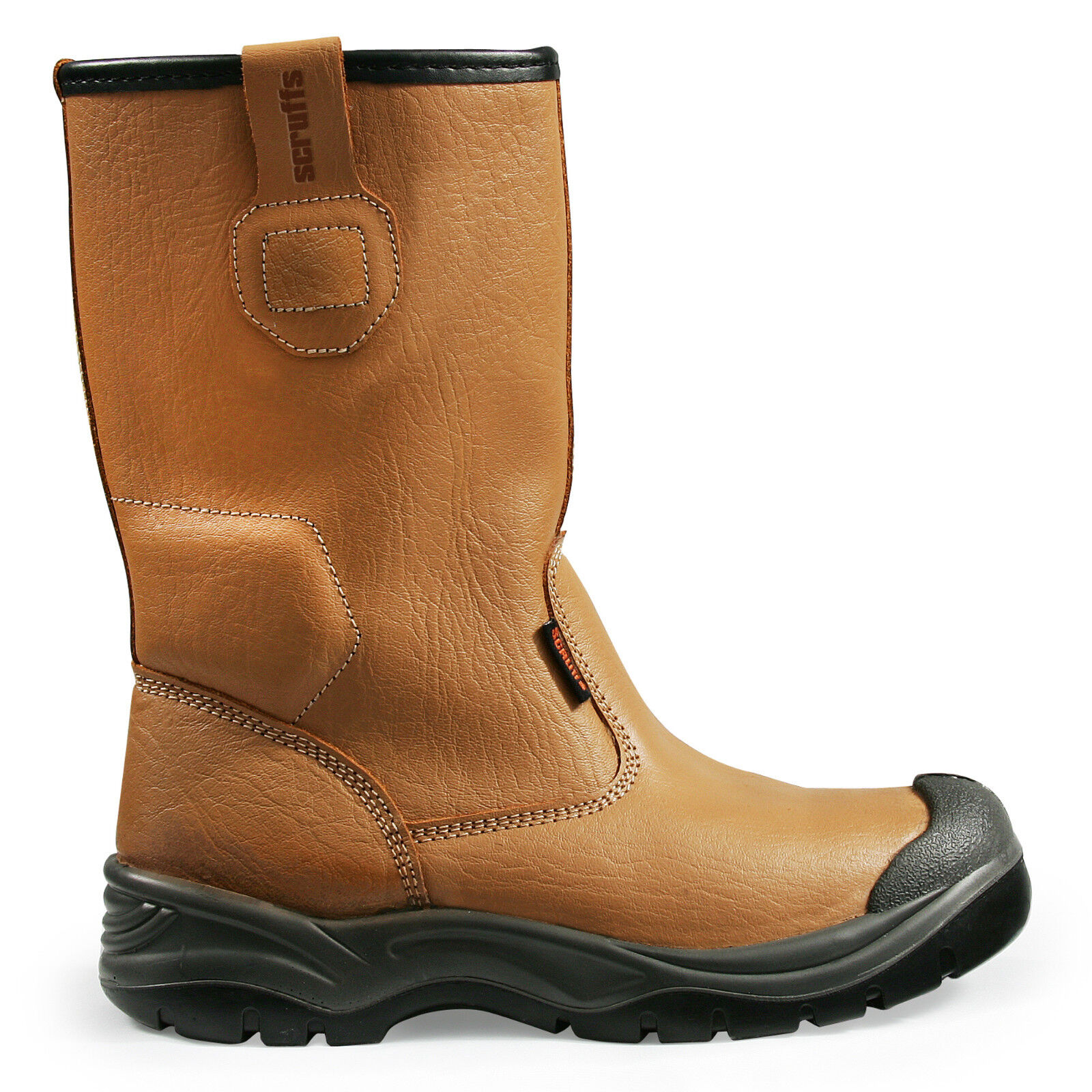 Scruffs Gravity Rigger Stiefel Tan/Braun Steel Toe Cap Stiefel Safety Stiefel Cap Größes 7-12 30de32