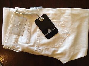 Fornarina-womens-white-skinny-trousers-25-039-32L