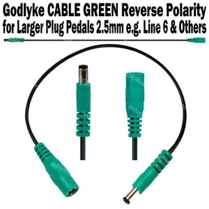 Godlyke-CABLE-GREEN-STRAIGHT-Large-Plug-Extension-Jumper-Adapter-for-Line-6