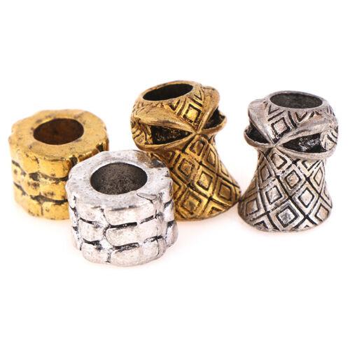 Paracord Beads Metal Charms for Paracord Bracelet DIY Pendant BuckXJZJP