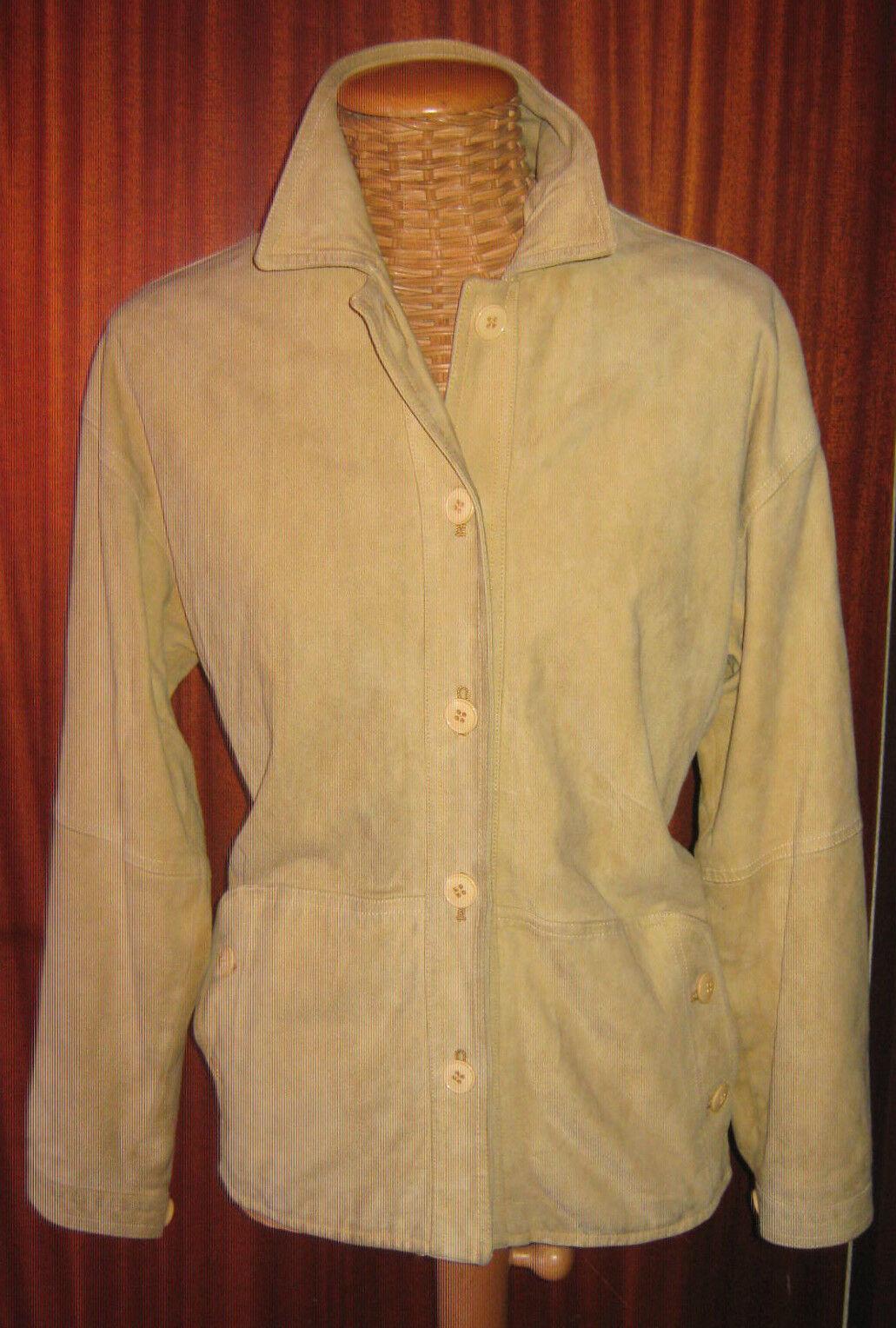Giubbino Giubbotto In Renna   GIORGIO VALLI   women Made In  Tg.44 Pelle