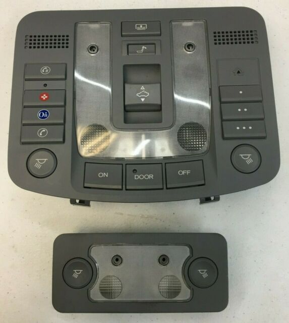 2005-2008 ACURA RL FRONT OVERHEAD DOME MAP LIGHT SUNROOF