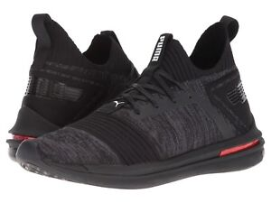 new product 49c44 398ae Details about Men's Shoes PUMA Ignite Limitless Sr evoKNIT 19048401 Black  New