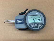 Dyer 650 001 Electronic Groove Gauge Id 7 14 Mm Mahr Spi Intertest Bore Caliper