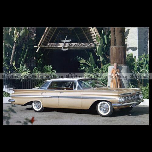 #pha.027760 Photo CHEVROLET IMPALA SPORT SEDAN 1959 Car Auto