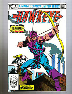 Image Is Loading Hawkeye Limited Series 1 4 1983 Origin Of